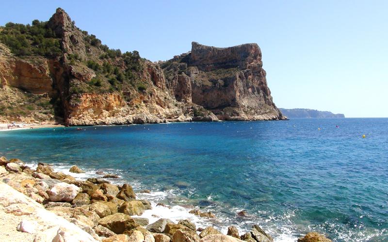 Nur wenige Autominuten entfernt: Playa Benitachell / Cala del Moraig, Provinz Alicante, Spanien