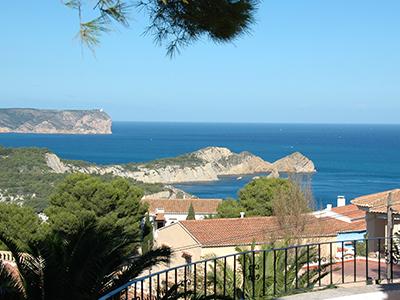 Ausblick auf das Mittelmeer