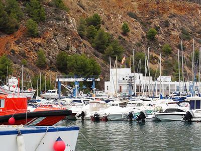 Xabiás Yacht- & Fischerhafen